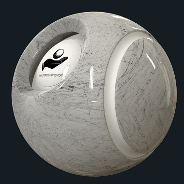 White marble pbr texture