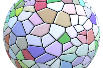 seamless colorful glass material