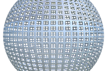 seamless grid metal texture
