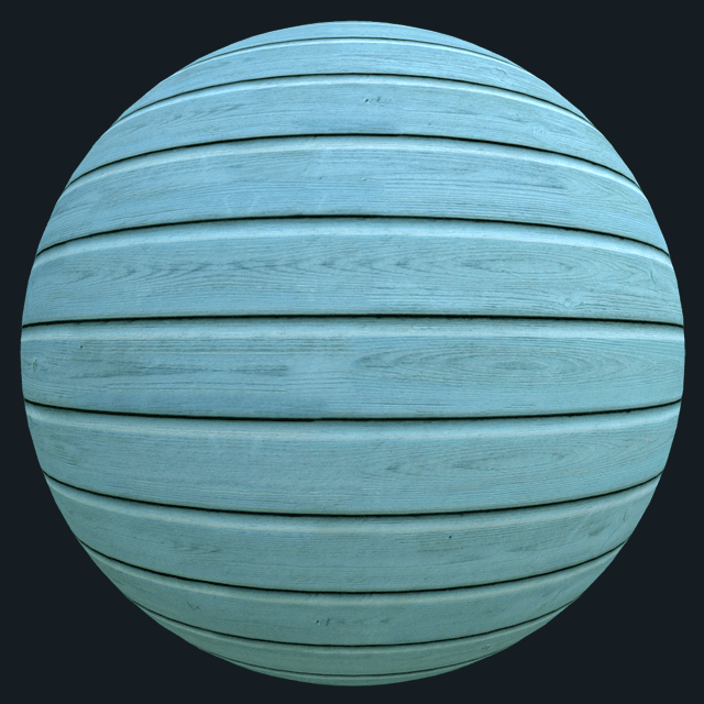 free wood plank texture blue