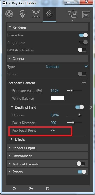 How to get depth of field effect 02 - blog - vray materials, vray, depth of field