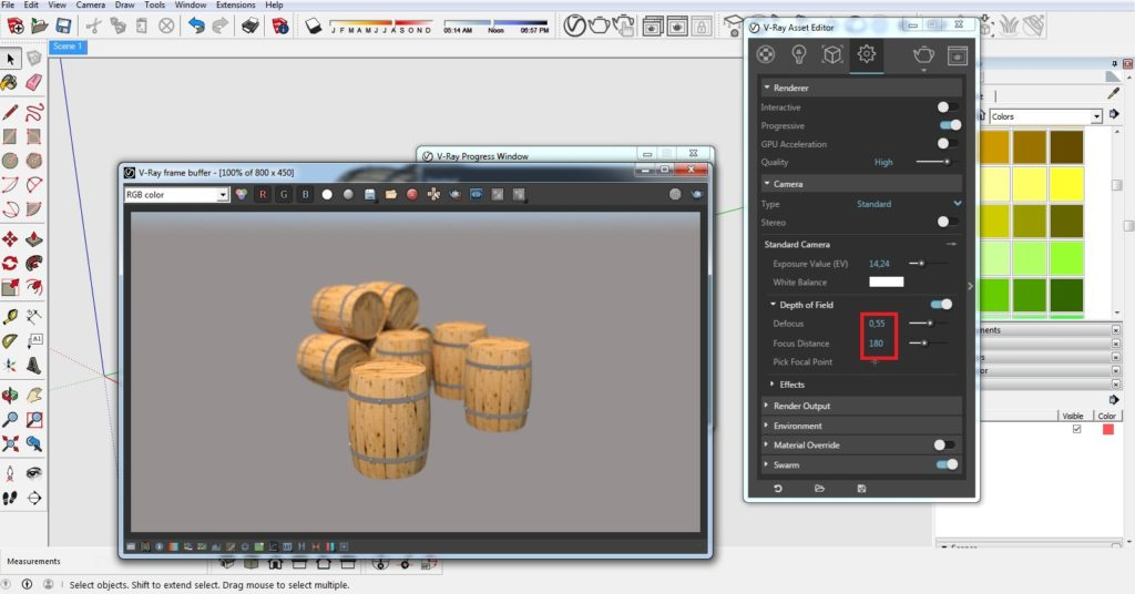 How to get depth of field effect 04 1024x536 - blog - vray materials, vray, depth of field