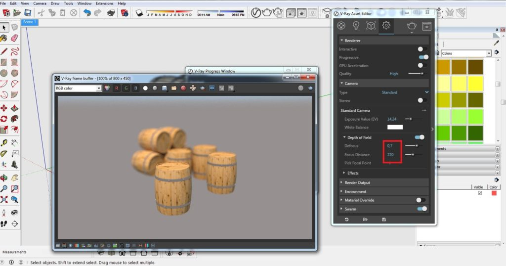 How to get depth of field effect 05 1024x538 - blog - vray materials, vray, depth of field