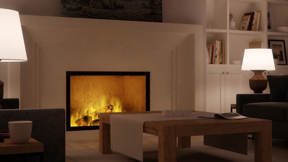 How to make a fire in the fireplace 14 - blog - vray tutorial, vray fire, sketchup vray tutorial