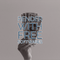 Render With Free Softwares blender|free render softwares|pbr textures
