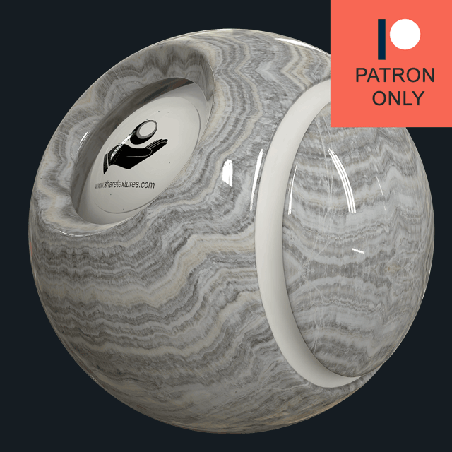 GREY STARIATO ONYX - POLISHED - ONYX