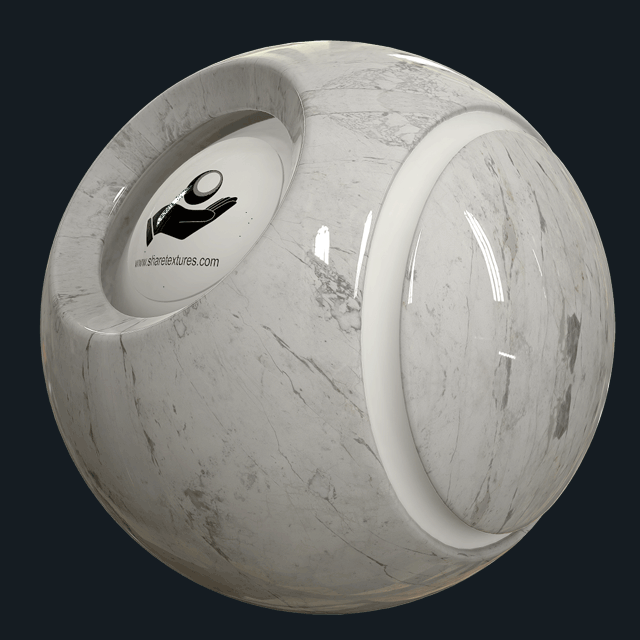 INVISIBLE WHITE - POLISHED - MARBLE
