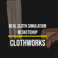 ClothWorks Plugin for Sketchup clothworks